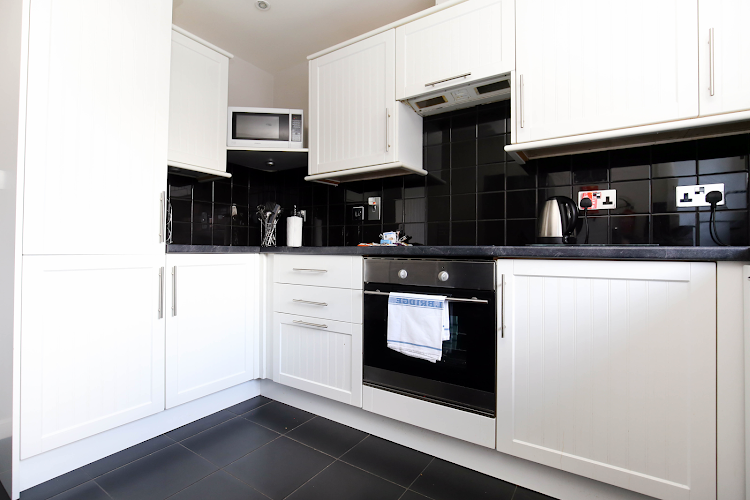 Fully equipped kitchen at Malvern Road