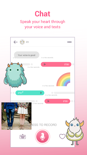 MonChats - Meet new people with voice! 1.2.4129 Screenshots 3