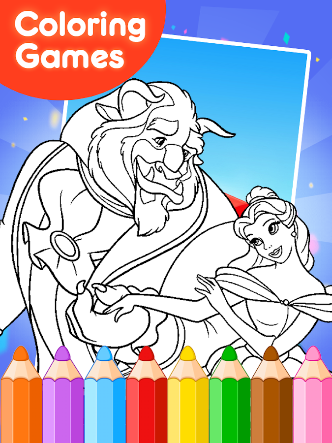 Beauty Princess Coloring Games - Android Apps on Google Play