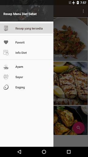Screenshot 3 Resep Menu Diet