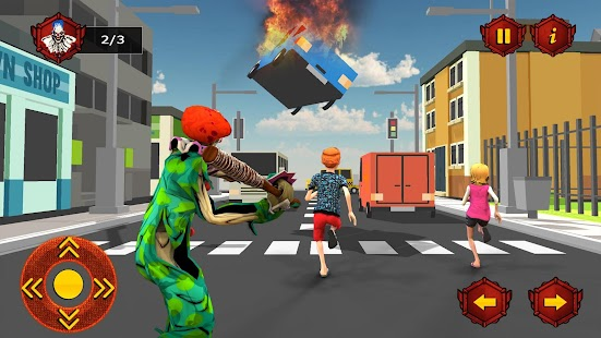Scary Clown Crime City Simulator 3D - náhled