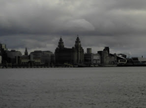 Photo: liver building liverpool river mersey