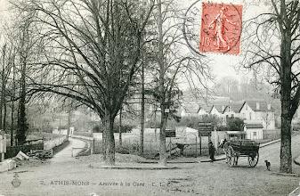 Photo: 2. Athis-Mons — Arrivée à la Gare - C.L.C. (oblitéré)
