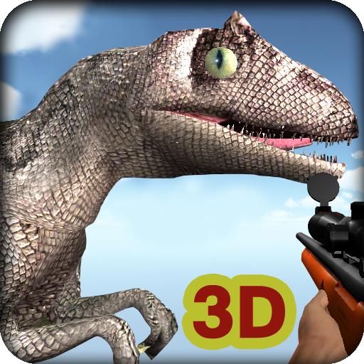動作App 恐龍3D狩獵 LOGO-3C達人阿輝的APP