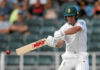 Calling it quits: AB de Villiers sends the ball to the boundary in the fourth Test against Australia in March. It is a sight South African fans — and those around the world — will miss. Picture: REUTERS