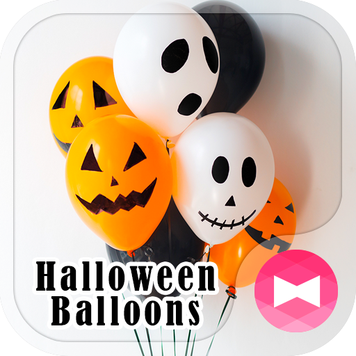 Fun Wallpaper Halloween Balloons Theme Icon
