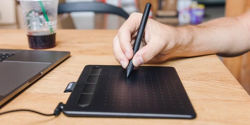 Лучший графический планшет WACOM для начинающих