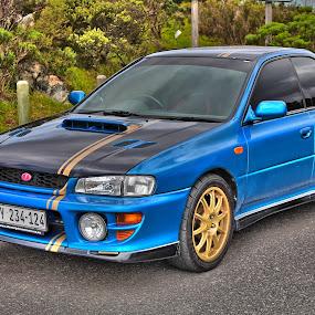 '00 Subaru Impreza GT by Reon Rich - Transportation Automobiles ( hdr, subaru, impreza, gt )