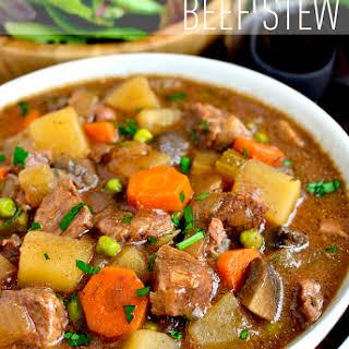 Crock Pot Beef Stew.