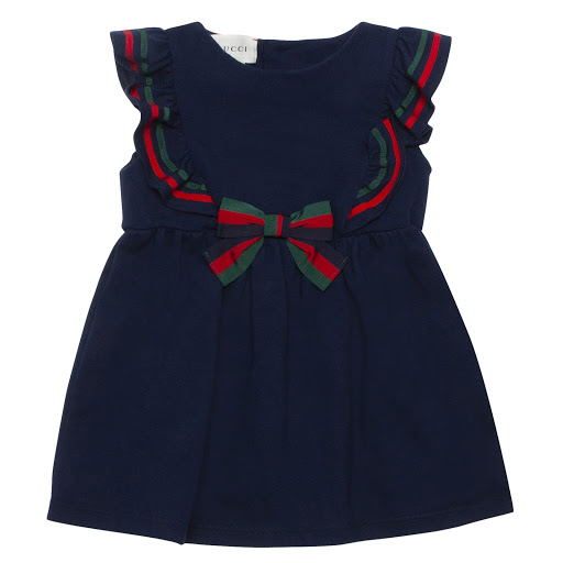 Primary image of Gucci Baby Sleeveless Piqué Dress