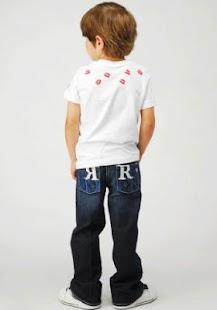 ... Moda infantil: miniatura da captura de tela ...
