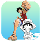 Luffy Coloring Books icon