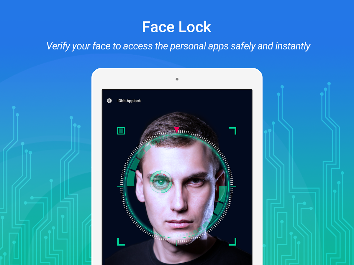 IObit Applock: Face Lock & Fingerprint Lock 2018- screenshot
