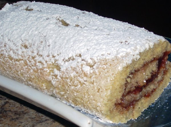 Raspberry-pomagranate Jelly Roll Recipe
