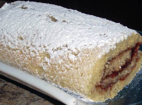 Raspberry-pomagranate Jelly Roll Recipe