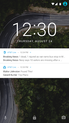 AT&T Live 2.0 Screenshot