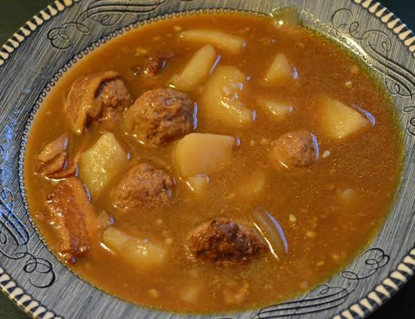 Hungarian Meatball Soup Recipe
