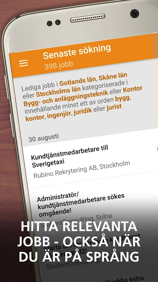 hitta ledsagare hand jobb i Stockholm