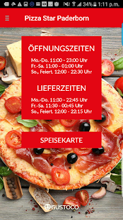 Pizza Star Paderborn – Miniaturansicht des Screenshots