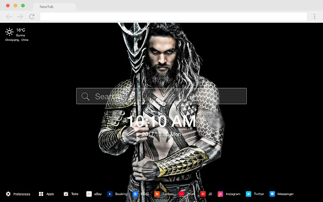Jason Moma Popular Stars New Tab HD Themes