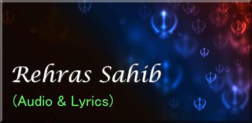Rehras sahib Audio and Lyrics - Apps on Google Play