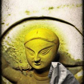 idols of goddes durga by Amit Sen - Artistic Objects Still Life