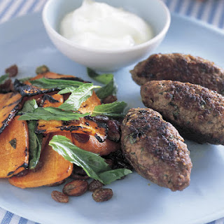 Kofta with Tunisian Carrot Salad