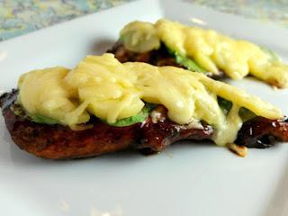 Balsamic Bque Chicken,spinach, Apples&smoked Gouda Recipe