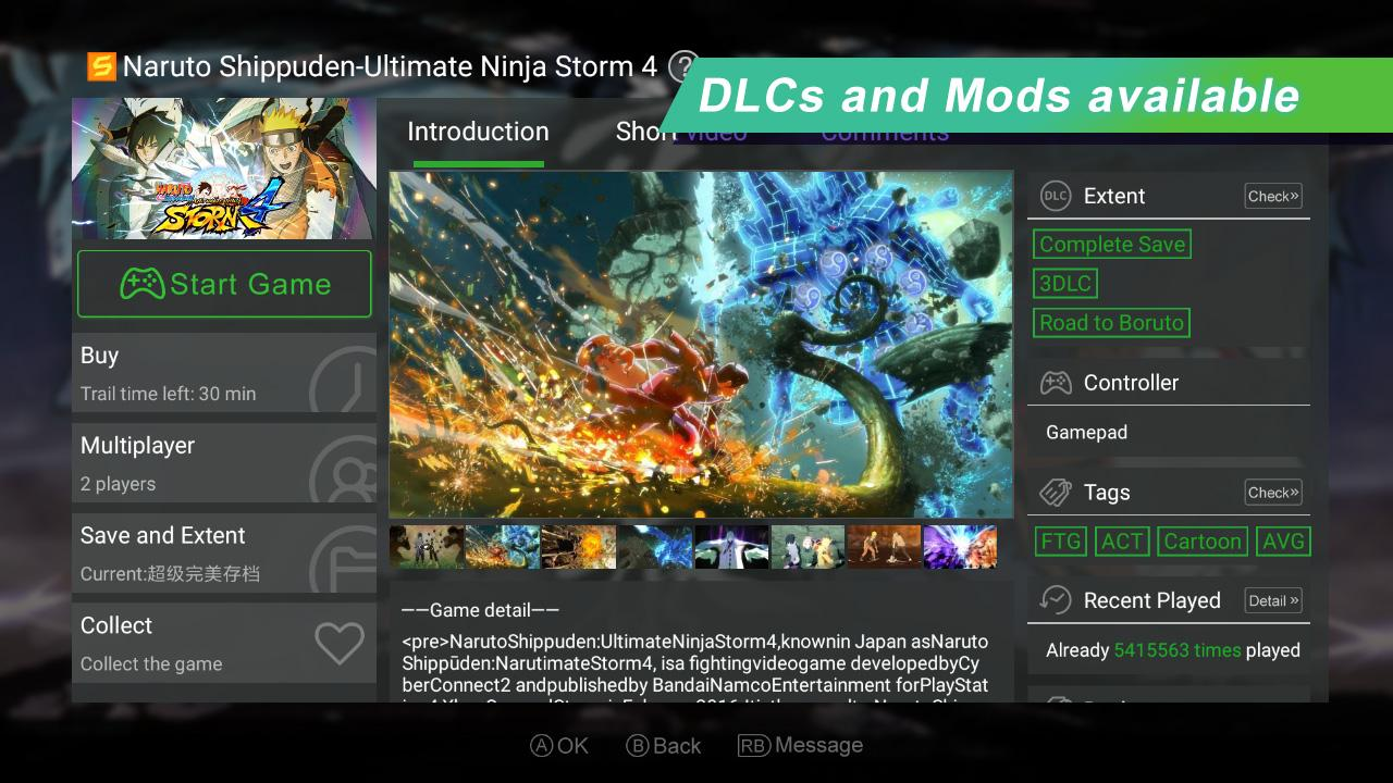 Gloud Games - Best Emulator for XBOX PC PS screenshots