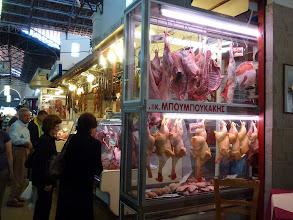 """Photo: plenty of """"fresh"""" chickens and rabbits"""