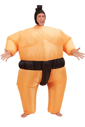 Dräkt, Uppblåsbar sumo