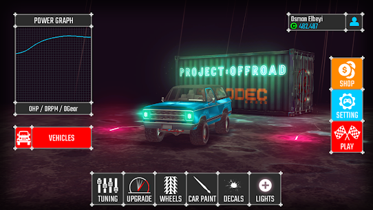 PROJECT OFFROAD 20 MOD + DATA (Unlimited gold coins) 1