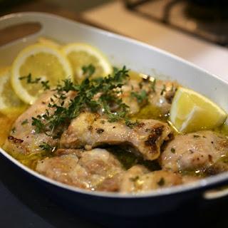 Baked Chicken Thighs Lemon Garlic Recipes.