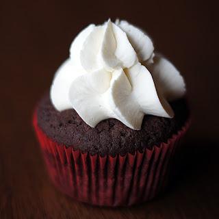 Extra Dark Chocolate Low Carb Cupcakes