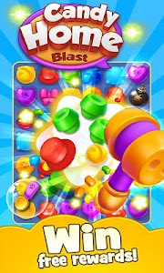 Candy Home Blast - Free Match 3 puzzle game 1.1.0