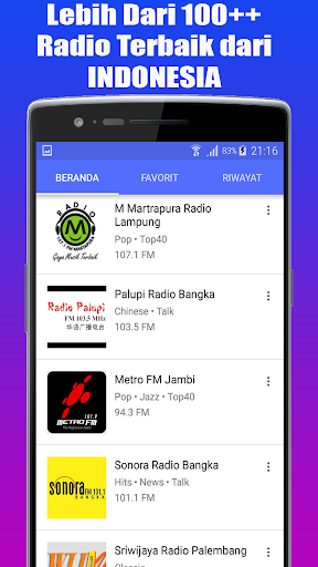 Radio Favorit FM - AM Stereo Indonesia 1.1.1 std-slm-test screenshots 4