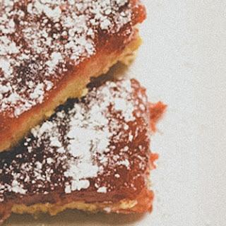 Almond Cranberry Bars.