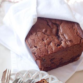 Chocolate Walnut Pound Cake.
