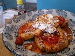 Photo: フレンチトーストもいただきます!(≧▽≦)
