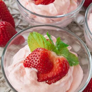 Berries and Cream Jello Salad.