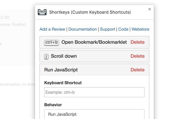 Shortkeys (Custom Keyboard Shortcuts)