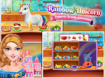 Rainbow Unicorn - Princess Beauty Adventures - náhled