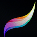 Pro Create drawing Colorizing icon