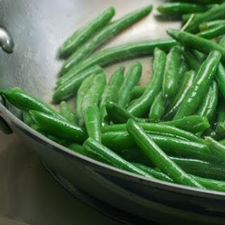 Sauteed Frozen Green Beans