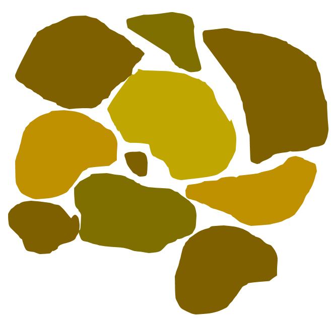 ANSYS Структура скальной породы