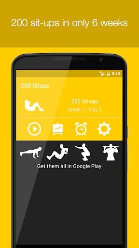 Sit ups 0 to 200 Situps Abs Workout Trainer by Fitness22 on ...