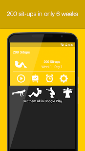 200 Situps- screenshot thumbnail