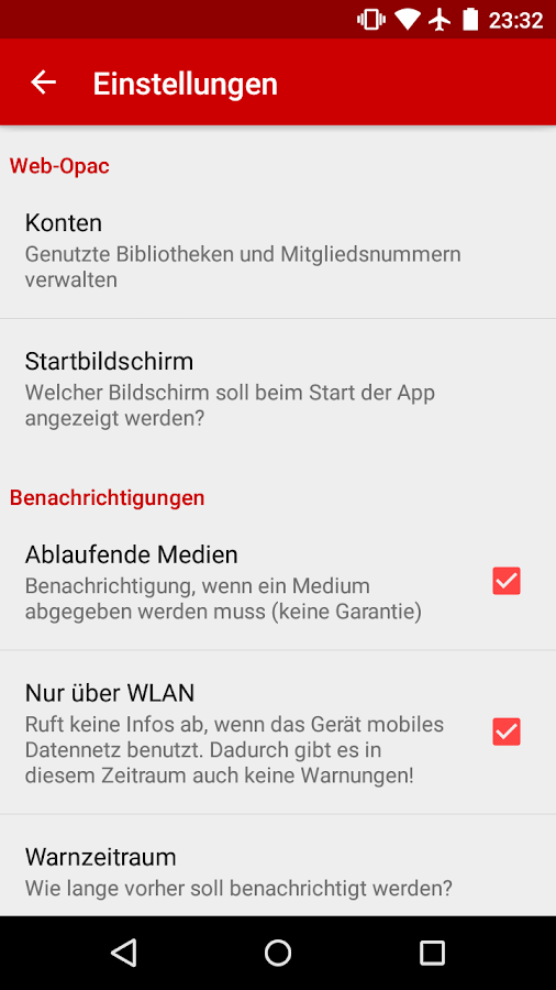 Web Opac: 1000+ Bibliotheken – Screenshot