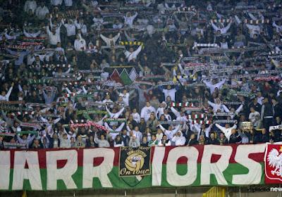 Le tifo dingue des supporters du Legia Varsovie