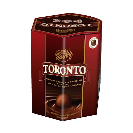 chocolate toronto hexagono 54gr